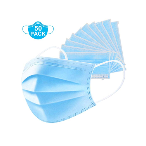 Disposable Surgical Mask Dust Breathable Earloop Antiviral Face Mask, Comfortable Medical Sanitary Surgical Mask Thick 3-Layer Masks