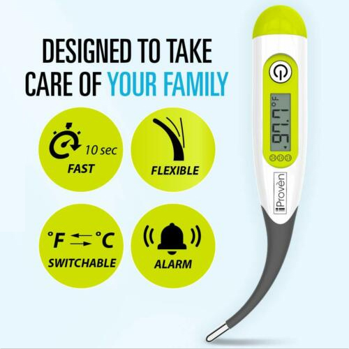 Rectal thermometer for babies